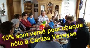 Table d'hôtes pour personnes vivant seules