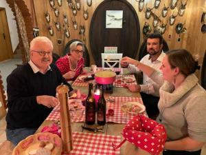 Carnozet Raclette und Wein