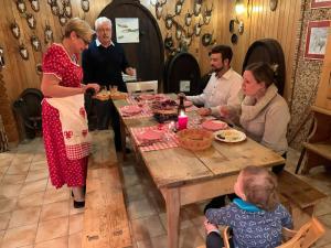 Garnozet mit Gästen
