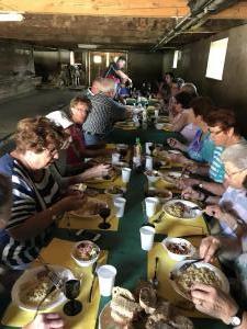 Mittagstisch Ausflug Eterpi 2019